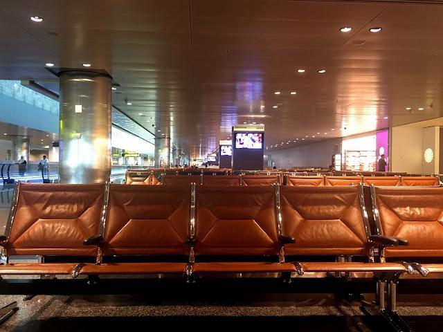 sillones aeropuerto qatar