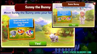 Bunny rabbit, Man in Bunny costume, Apple Tree, fv2ce