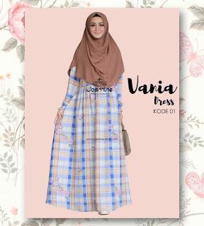 Gamis Jasmine Vania Dress 01