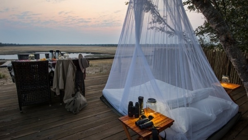 Little Makalolo Camp, Hwange, Zimbabwe - 15 Incredible Hotel Rooms Where You Can Sleep Under The Stars.