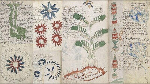 La flora descrita en el libro no es de este mundo
