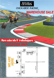 Chickaboo Racing to House of Leather Warehouse Sales