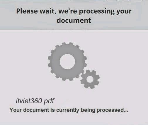 Chuyển file PDF sang Word Online miễn phí cực nhanh
