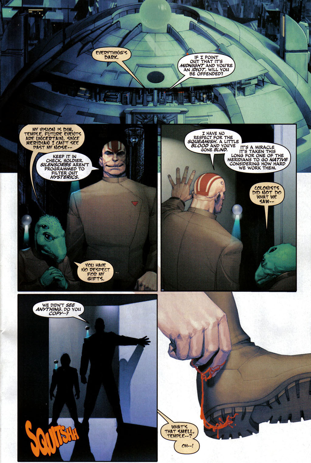 Read online Space Ghost (2005) comic -  Issue #3 - 2