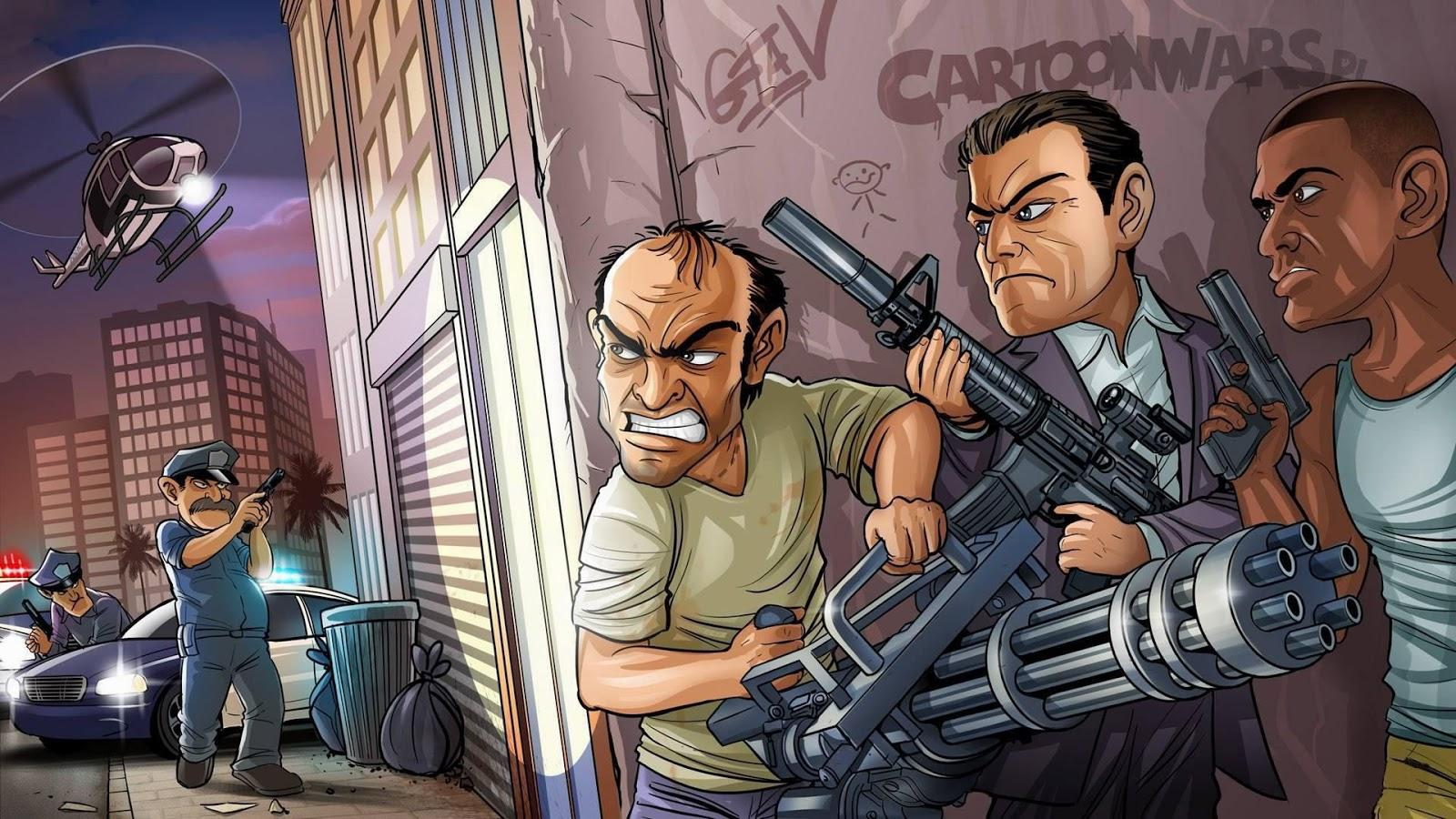 Download Wallpaper GTA 5