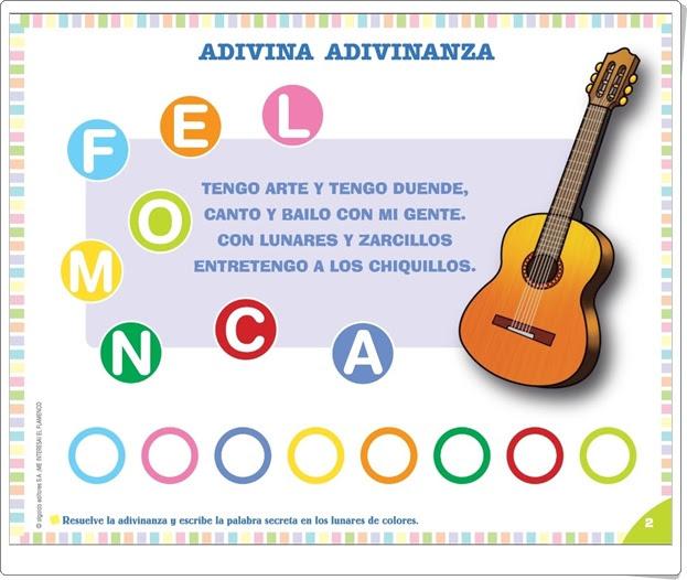 """Proyecto de Educación Infantil """"El flamenco"""" (Colección """"¡Me interesa!"""" de Editorial Algaida)"""