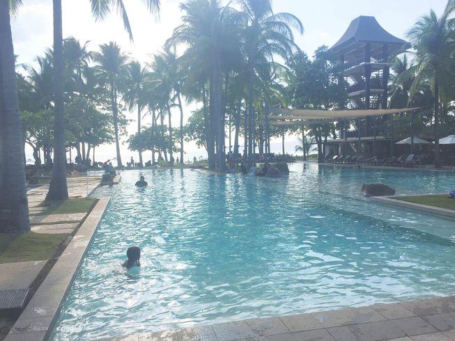 Swimming pool at Anvaya Cove