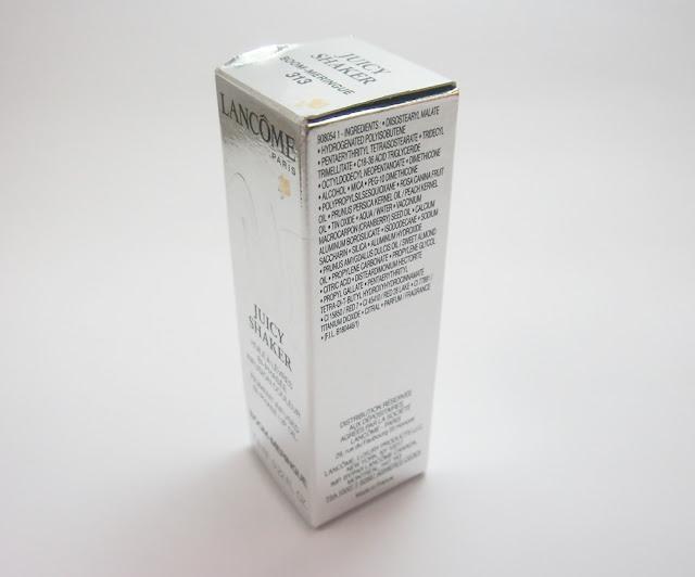 Lancôme Juicy Shaker na cor Boom-Meringue
