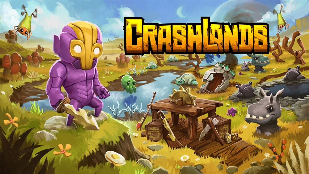 Crashlands Game Download Poster