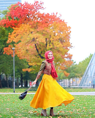 Model Baju Muslim untuk Pesta ala Dian Pelangi