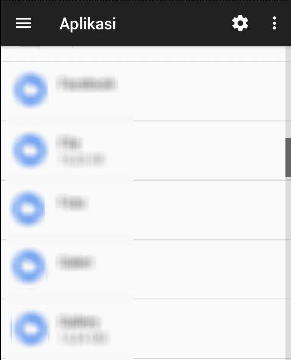 Cara cek Daftar Aplikasi di HP Android