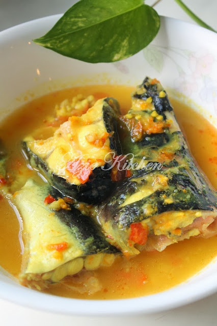 Masak Tempoyak Ikan Patin Buah