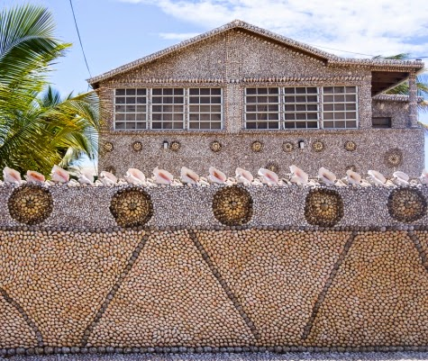 sea shell house in Puerto Rico