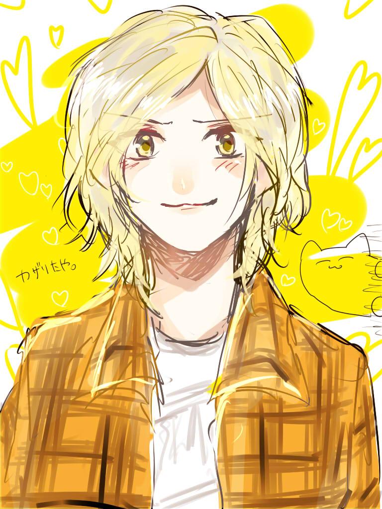 銀ガムテ  ろり カザリたや、デフォですね~~^^^この子さぁ、書く人によっては銀髪のことがあるのだけれど、どっちが正しいんですか?金髪だと思ってたんだけど、銀 なんですか!