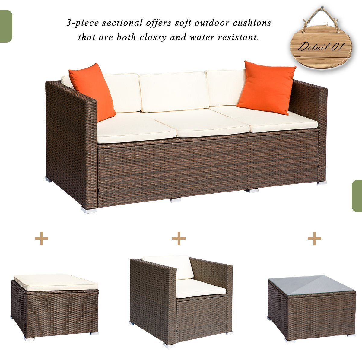 Rattan Sofa Set Reviews Luxury Furniture Review Leisure Zone Rattan Patio