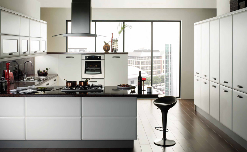 Home remodeling plans black and white kitchen ideas ii - Black and white kitchen ideas ...