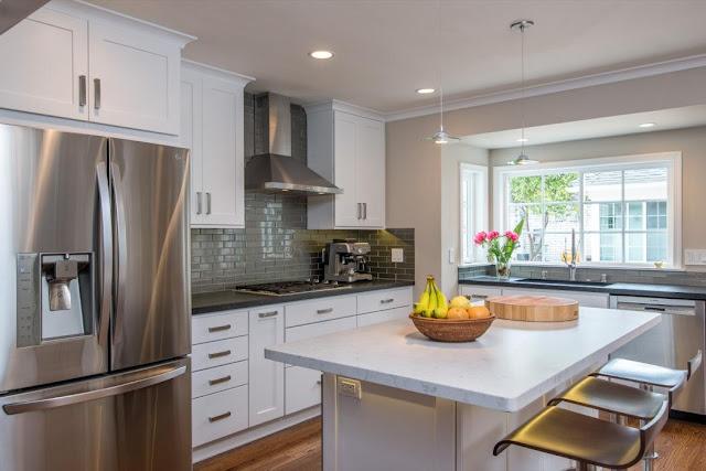Kitchen Remodel Austin Tx For Small Modern Kitchen Design. Open Small L  Shaped Kitchen Design