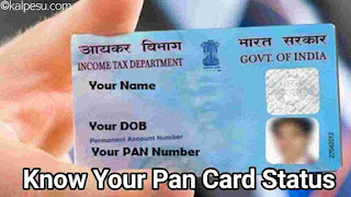 How to check pan card number is valid or not in Hindi