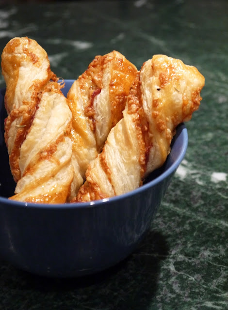 Herby Parma Ham Cheese Twists The Betty Stamp Recipe