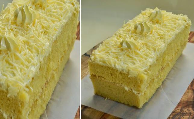 Resep Cake Keju Enak