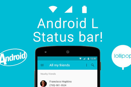 5 Aplikasi Untuk Mengedit Status Bar di Smartphone Tanpa Root