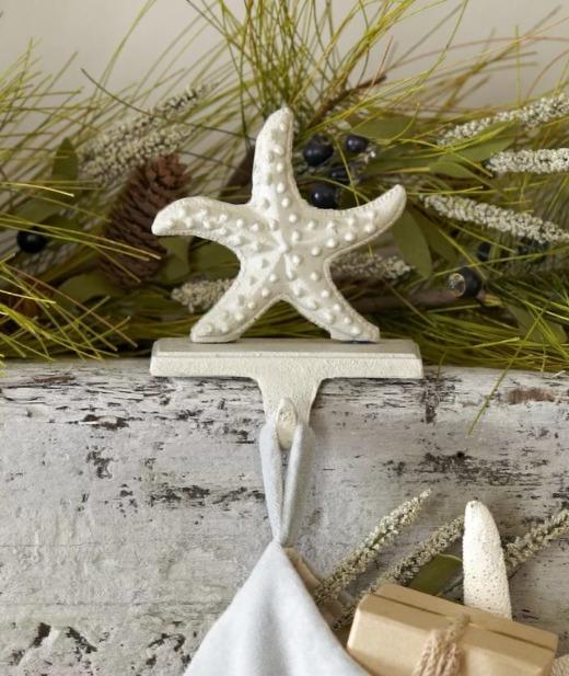 Starfish Stocking Hooks