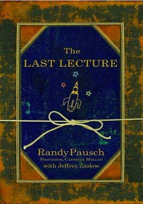 The Last Lecture by Randy Pausch - book cover