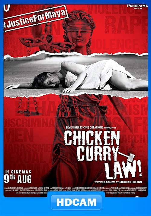 Chicken Curry Law 2019 Hindi 720p PreDVDRip x264 | 480p 300MB | 100MB HEVC