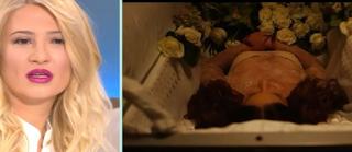 ΣΟΚ στο Πρωινό: Η Στικούδη τραγουδά την κηδεία της – Σούπερ σeξι μέσα στο φέρετρο