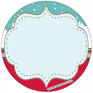 Retro Christmas: Free Printable Cupcake Wrappers and Toppers.
