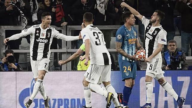 Hattrick Ronaldo Antar Juventus ke Perempat Final Liga Champions