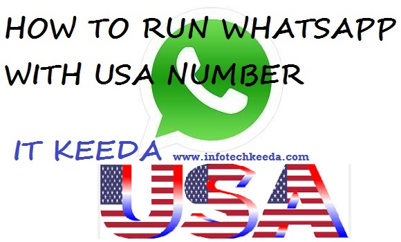 How to run WhatsApp with USA number 2