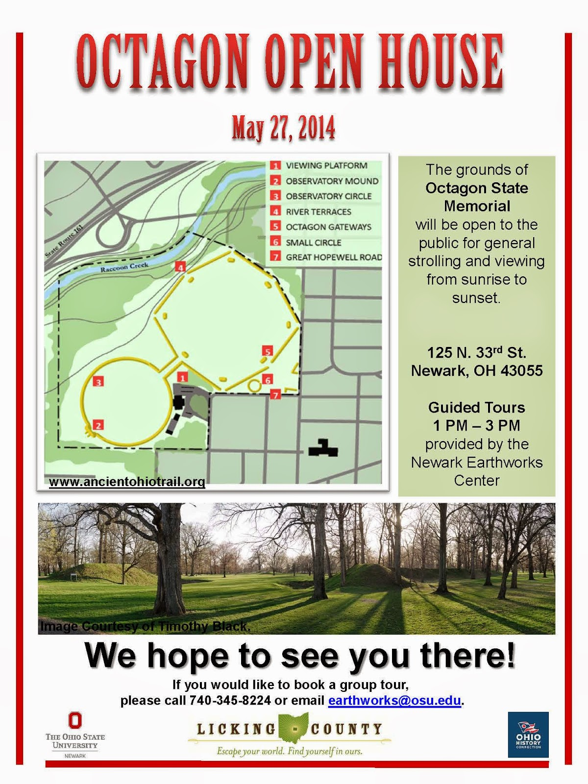 Octagon Open House May 27, 2014 Flyer PDF