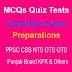 English Grammar And Mathematics MCQs Quiz Tests