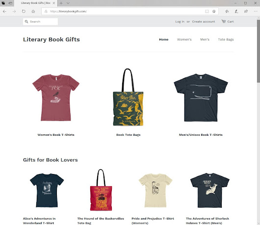 Literary Book Gifts + Promo Code