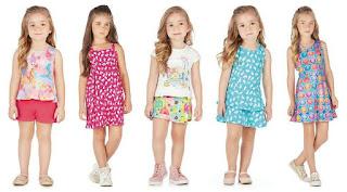 Catálogo virtual de moda infantil para revenda