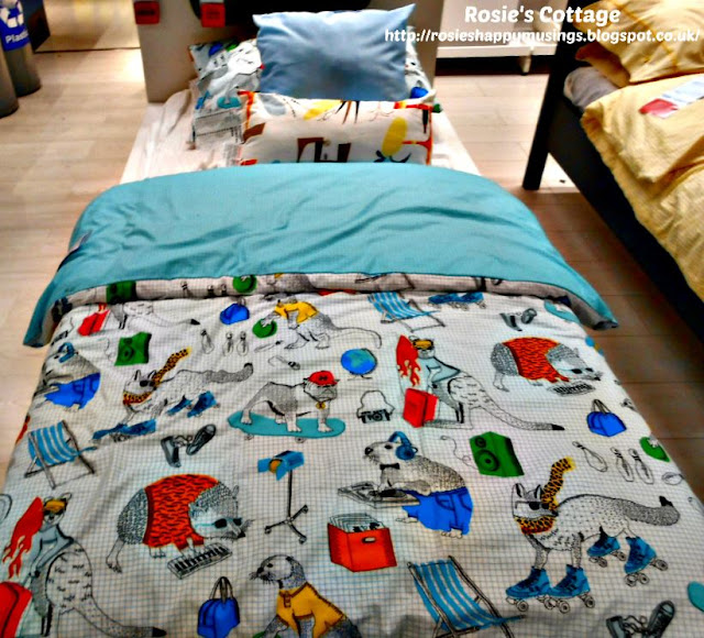FLICKÖGA quilt cover set by Ikea