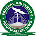 2017/2018 FUNAI SUPPLEMENTARY ADMISSION APPLICATION IS NOW ON