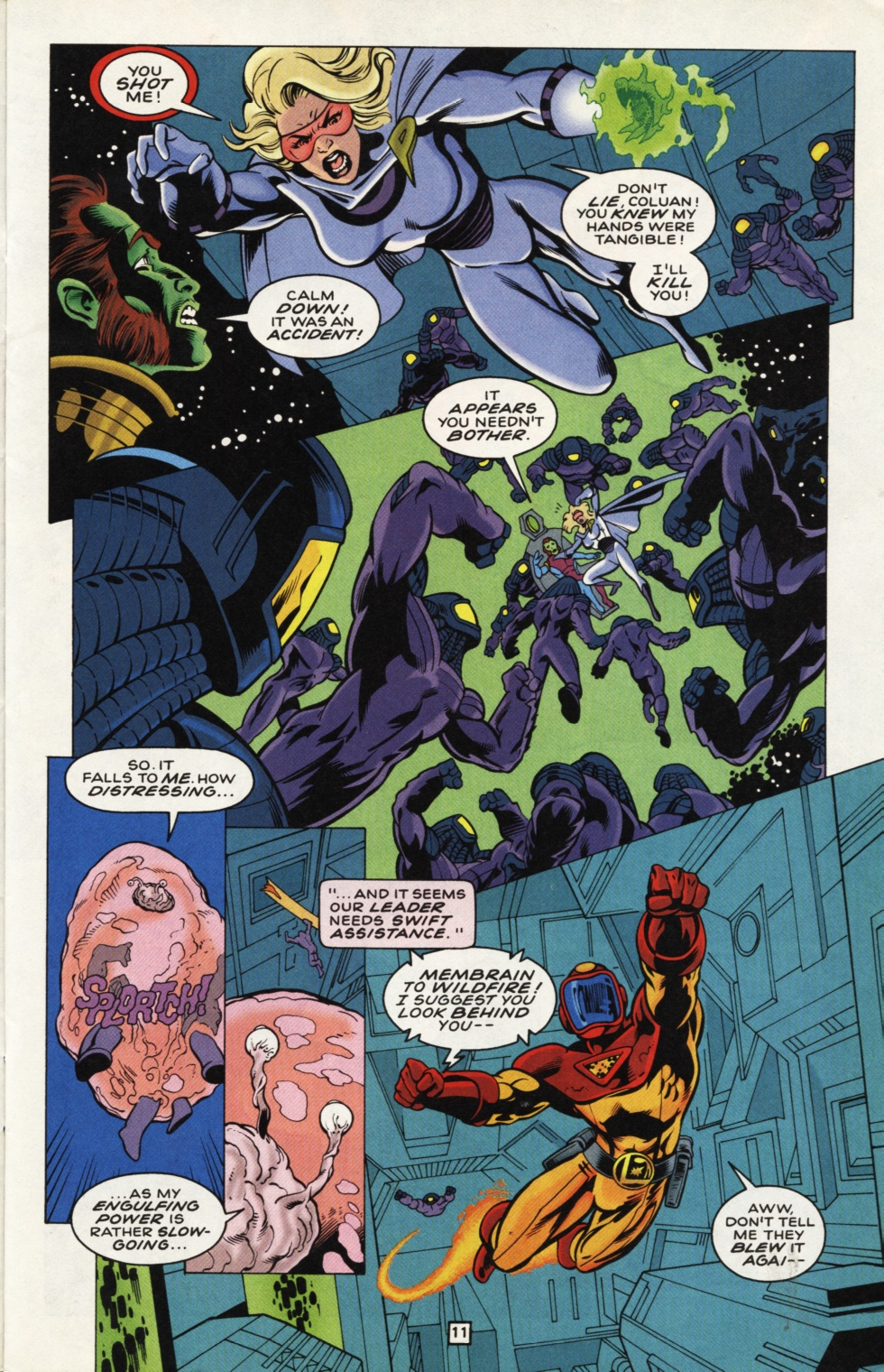 Legion of Super-Heroes (1989) _Annual_7 Page 12