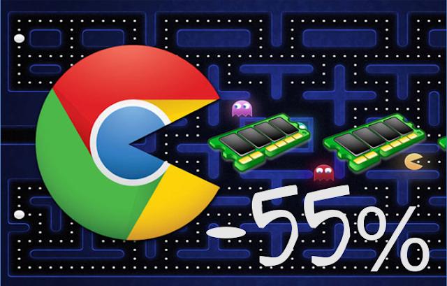 Chrome consumirá menos memória RAM