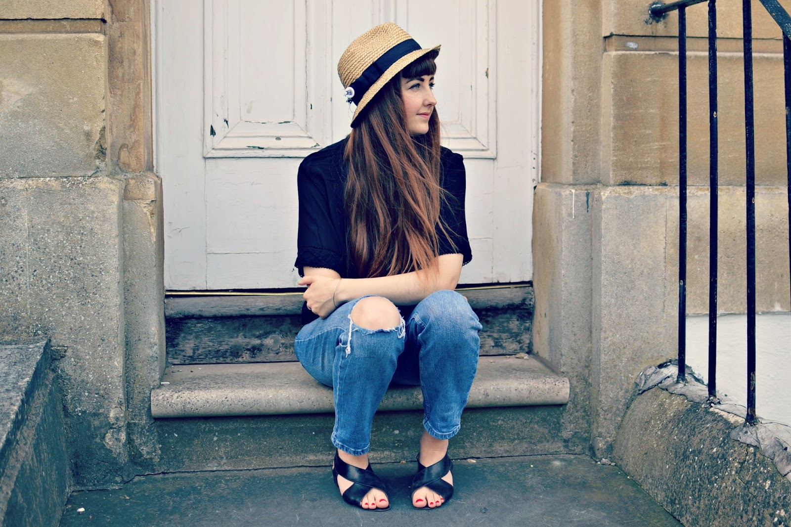 vintage fashion, blogger, vintage outfit of the day, outfit post