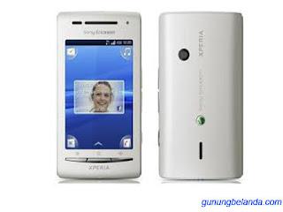Cara Flashing Sony Ericsson Xperia X8 E15a