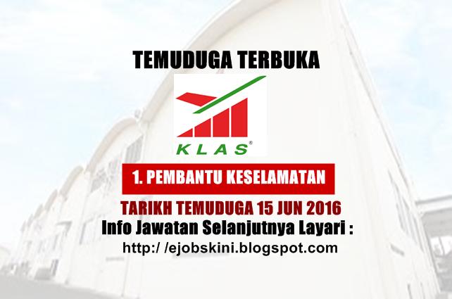 Temuduga Terbuka di KL Airport Services Sdn Bhd (KLAS)