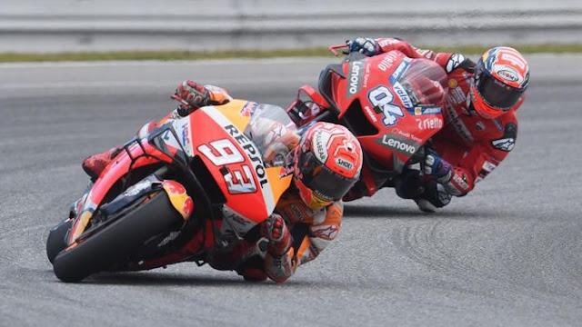 Dovizioso: Gap antara Marquez dan Pebalap MotoGP Lainnya Tak Masuk Akal