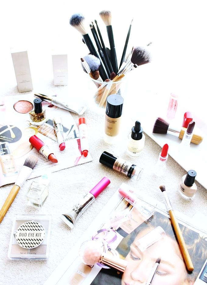 Drugstore makeup haul: H&M, Maybelline, Essence, Miss Sporty.Prolecna kupovina sminke u drogerijama.