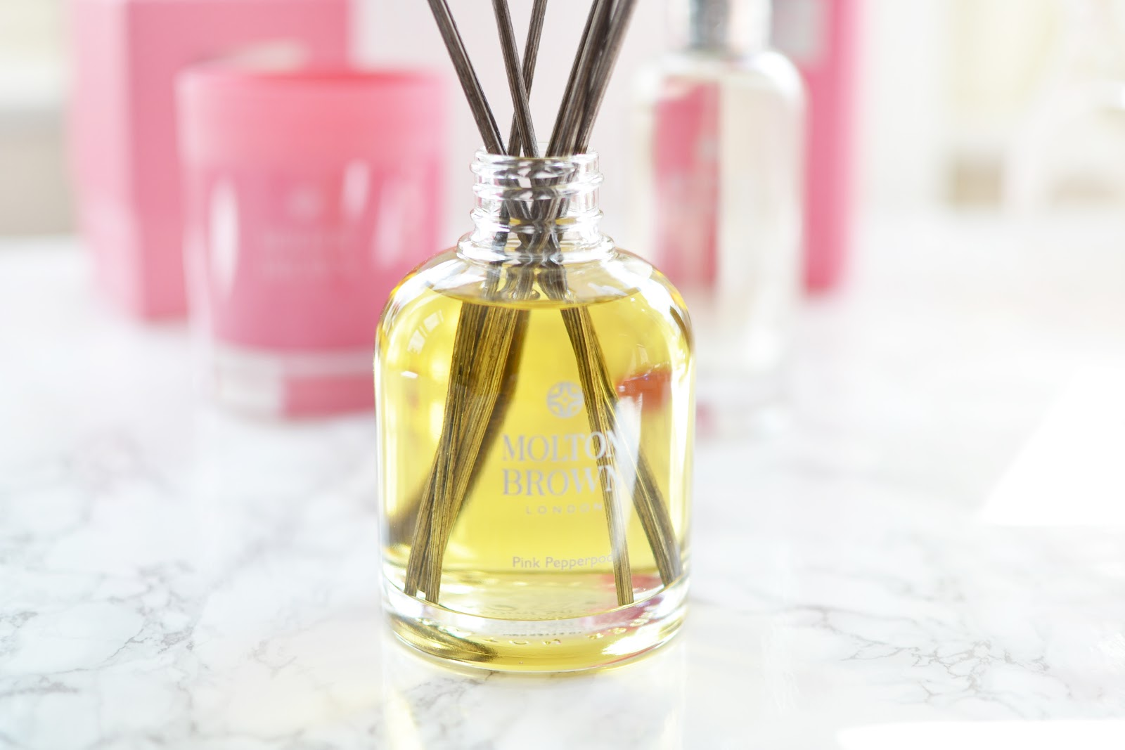 molton brown pink pepperpod reed diffuser