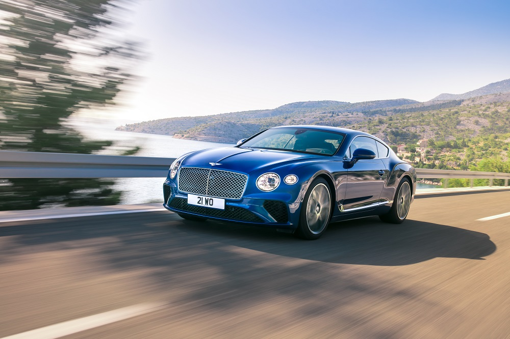 Bentley Continental GT wins gold at German Design Awards