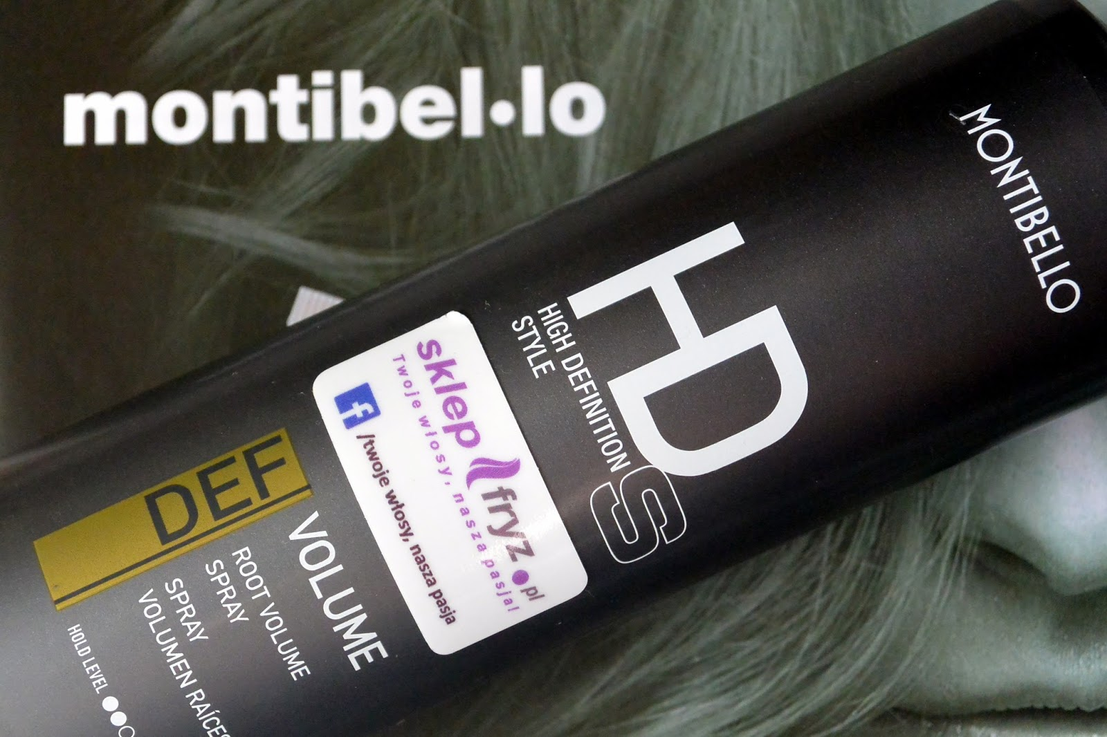 HIGH DEFINITION STYLE Montibello | Spray podnoszący włosy u nasady