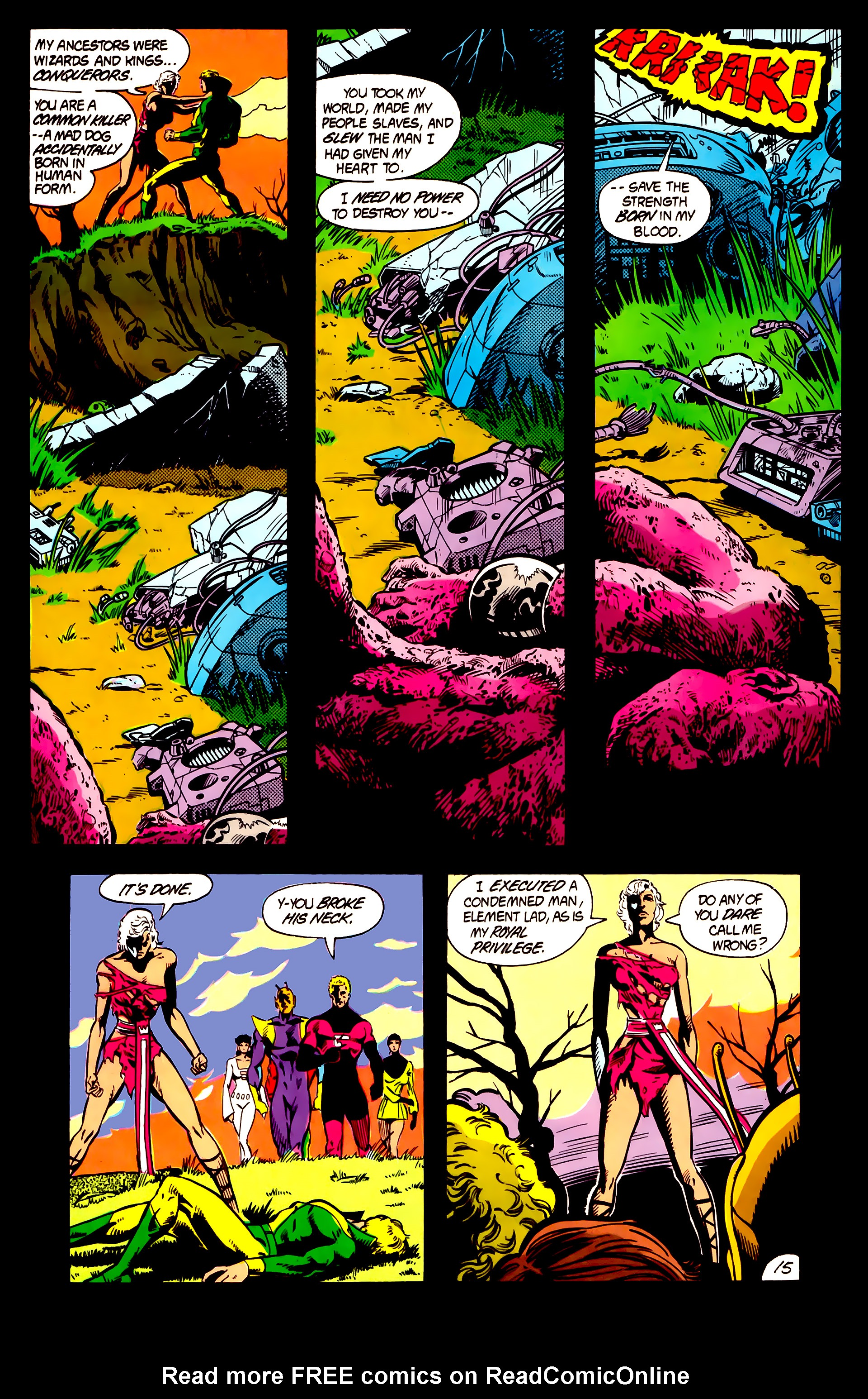 Legion of Super-Heroes (1984) 5 Page 16