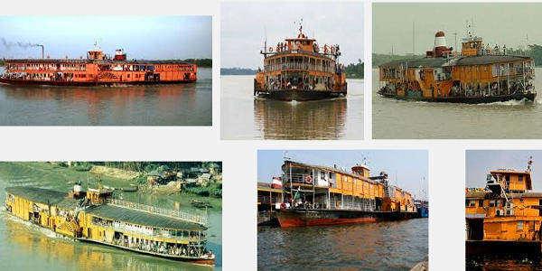 Rocket Paddle Steamer Trip in Bangladesh